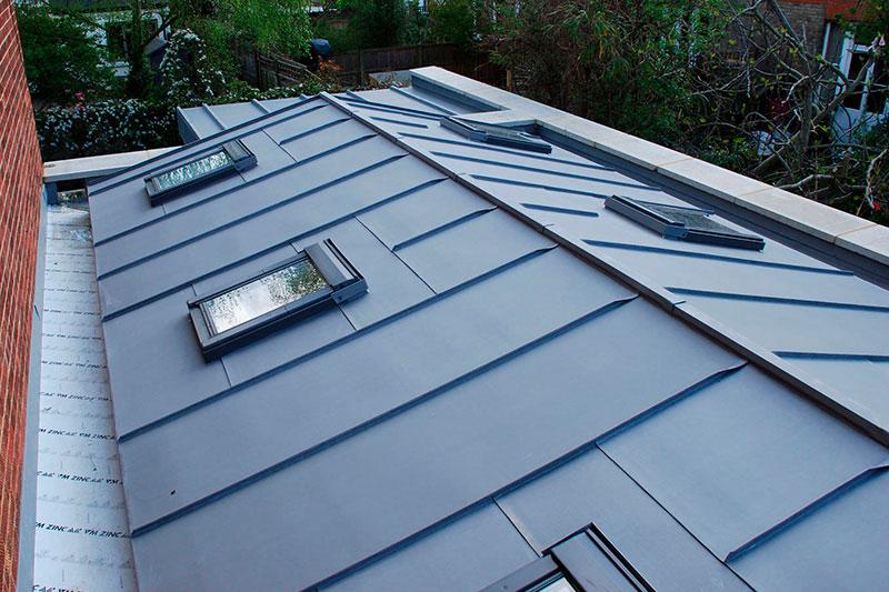 пример покрытия крыш