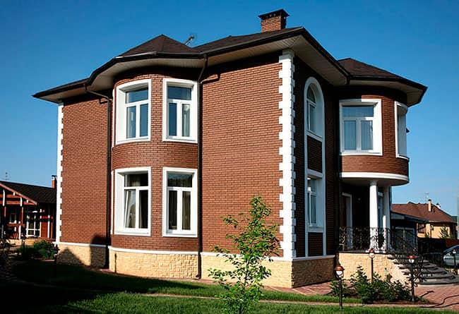 кирпич относится к идеальному материалу для отделки зданий