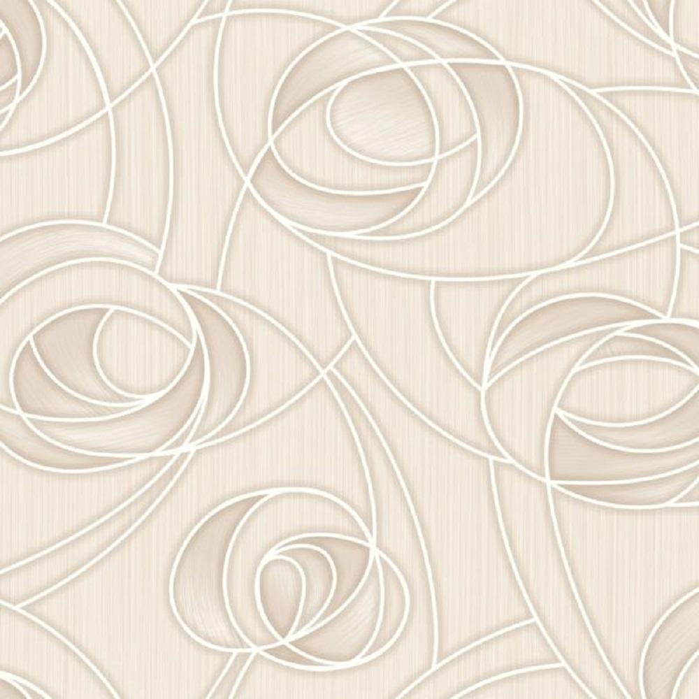 Обои Пермские обои (дуплекс) Некст 1024-01 (рисунок 1-1) беж, 0,53х10,05м
