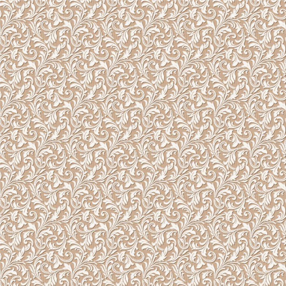 Обои Саратовские обои (бумажные дуплекс) Узор-О 462-02 бежевый 0,53х10м