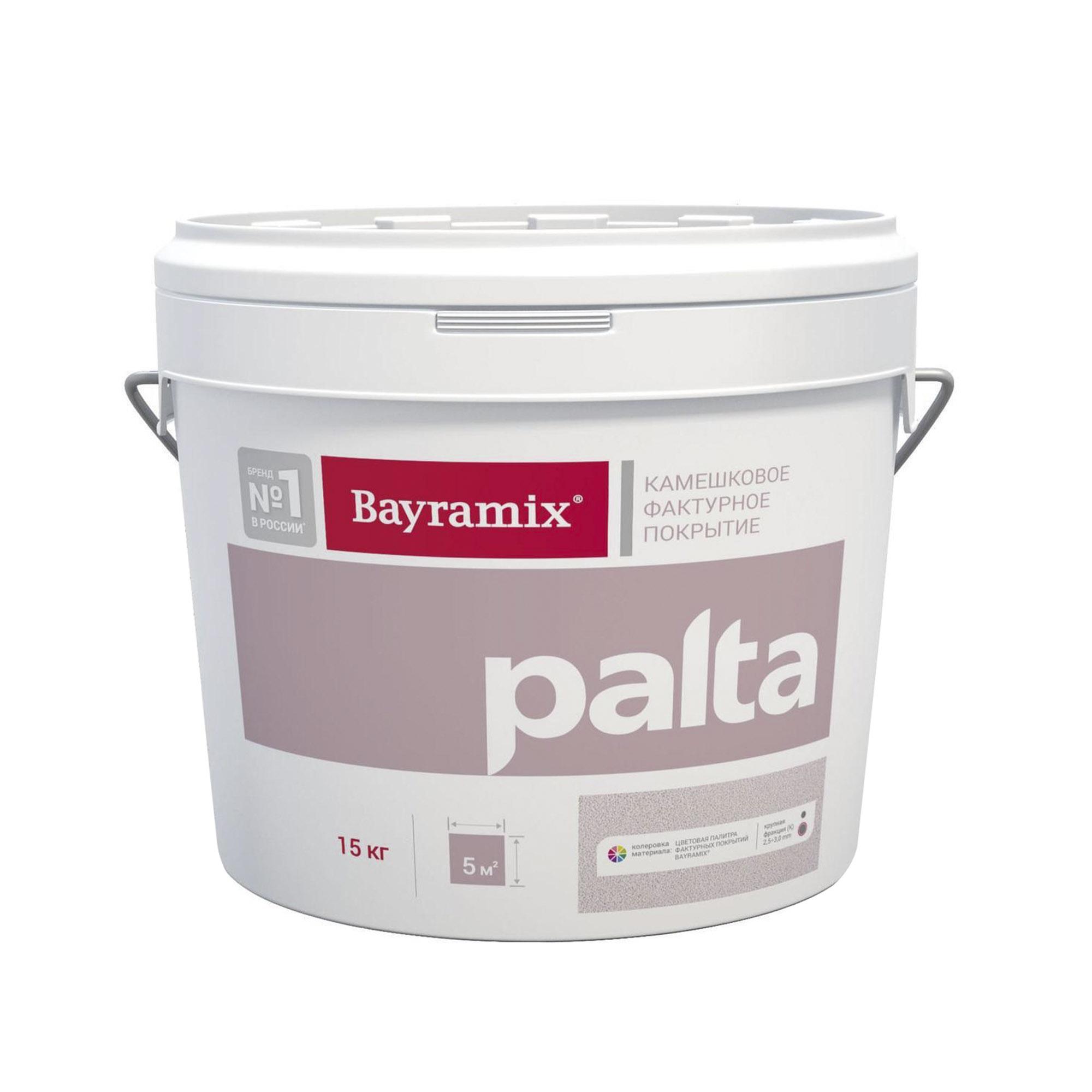 Штукатурка Bayramix Palta P001N средняя 15 кг